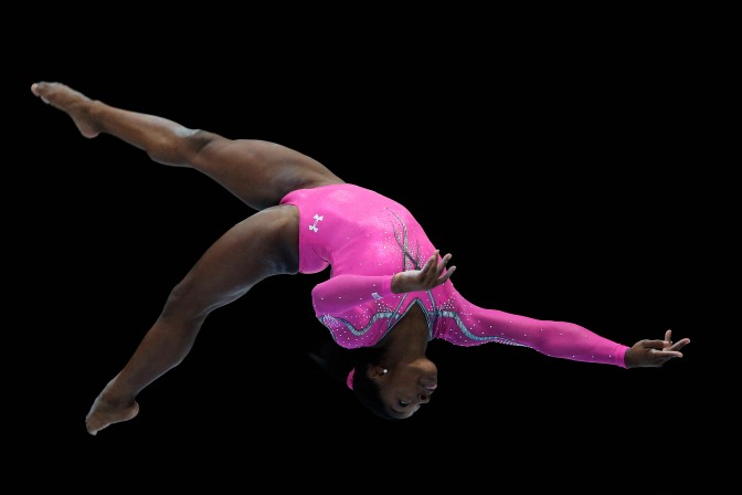 The Best Gymnast In The World Right Now Is A Black Girl Named Simone Biles [VIDEO]